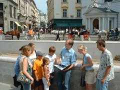 Guided sightseeing tour in Vienna